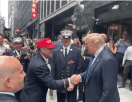 Trump Commemorates 9/11 With Visit to Those Who Deserve Our Thanks