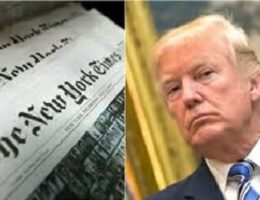 Trump Sues NY Times and Niece Mary Trump Over Reports on His Tax Filings
