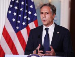 U.S. Secretary of State Antony Blinken And U.S. Secretary Of Defense Austin To Meet Gulf Allies To Address Afghanistan Defeat