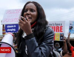 Ugandan climate activist Vanessa Nakate: 'No more empty promises'