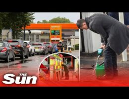 UK Panic Buying Has Resulted 'Up To 90 Percent' Of Petrol Pumps Running Dry