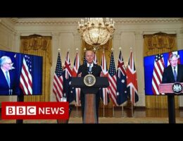 UK, US And Australia Announce Historic Security Pact In The Asia-Pacific