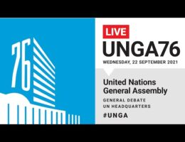 United Nations General Assembly Speeches -- September 22, 2021