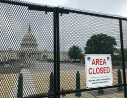 US Capitol Fence To Be Reinstalled Ahead Of September 18 Rally