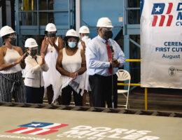 US Navy And Shipbuilder Huntington Ingalls Industries Have Started Construction On The Newest Ford-Class Carrier