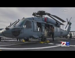 US Navy Helicopter Crashes Off The San Diego Coast. 5 Crew Members Missing
