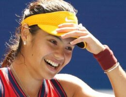 US Open: Emma Raducanu 'excited' to play Maria Sakkari in semi-finals