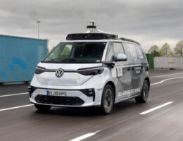 Volkswagen and Argo AI reveal first ID Buzz test vehicle for autonomous driving