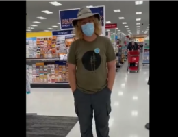 WATCH: Man Follows Woman Around Target, Harassing Her for Not Wearing a Mask