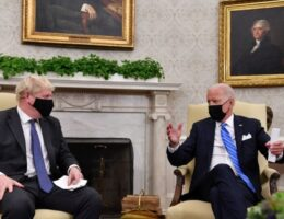 WH Aides Block Reporters From Asking Biden and Johnson Questions