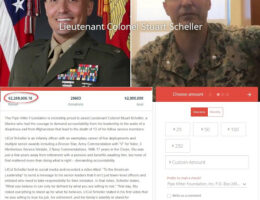 $2.2 Million Raised For Marine Lt. Col. Stu Scheller After He Was Imprisoned For Criticizing The Pentagon Leadership For Afghan Chaos