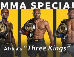 Africa's 'Three Kings' boosting UFC profile on the continent