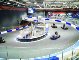 Al-Kout Mall opens largest indoor go-kart track in Middle East