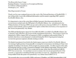 BREAKING: NIH Confirms Fauci Lied, EcoHealth Alliance Violated Terms of Virus Research Grant