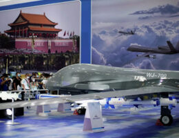 China Boasts That Its New Unmanned Combat Drone Will Evade Enemy Air Defenses
