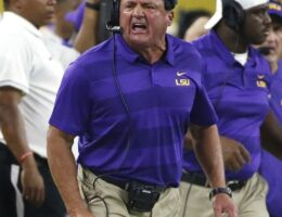 Coach O's Absolutely Chaotic Behavior On and Off the Field Led to His Departure from LSU