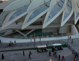 Dubai's Expo opens, bringing the Middle East its first world's fair