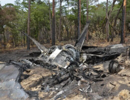 F-35s Nearly Collided With F-22s Right After Last Year's Raptor Crash At Eglin Air Force Base