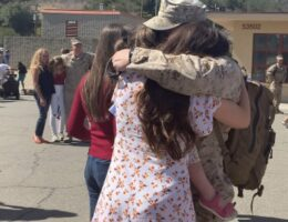 Marines in California return home from Middle East deployment