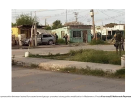 Matamoros, Tamaulipas: Armed Men Clash With Military In The Streets