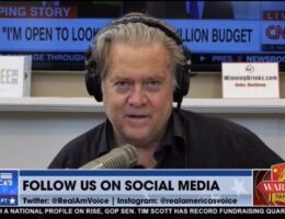 MEDIA MELTDOWN After Steve Bannon Again Calls for Army of GOP Operatives to Overhaul Government (Video)