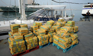Portuguese Police Seize 5 tons of Cocaine Worth $232 million from Yacht in Atlantic Ocean