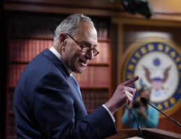 Schumer Just Laid Down a Stinging Indictment of the Biden Admin