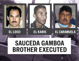 The Execution of El Fonfas, One of Osiel Cardena's Trusted Sauceda Gamboa Brothers