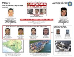 US Sanctions Reveal CJNG's Grip on Mexico Port To Move Fentanyl