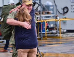USS Ronald Reagan returns to Japan after 150-day deployment to Middle East - Stars and Stripes