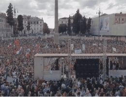 WATCH: Thousands Clash With Police in Rome Over COVID Vaccine Passports