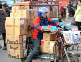 What is driving China's e-commerce growth?