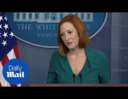 White House Press Secretary Jen Psaki Pushed Back Against Climate Envoy John Kerry's Admission That President Biden 'Had Not Been Aware' Of French Reaction To Sub Deal