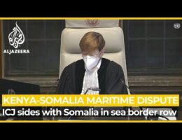 World Court Rules Mostly With Somalia In Border Dispute With Kenya